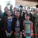 17-18 июля 2016 г. прошла фотовыставка, посвященная царственным страстотерпцам в храме с. Матвеево и в часовне д. Трубино Спировского района.
